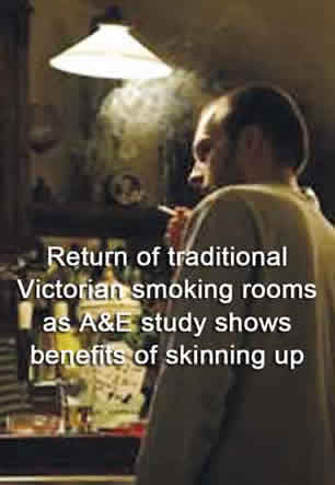 victorian smoking rooms