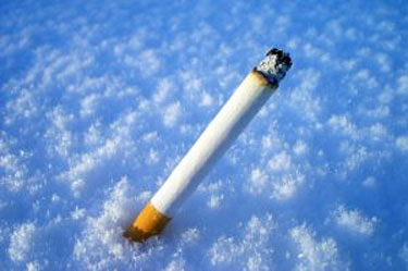 smokers perish in snow