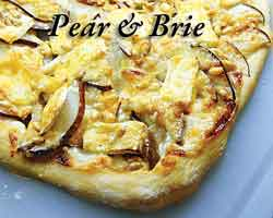 pear and brie