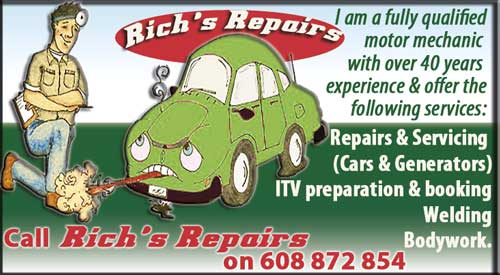 Rich´s repairs
