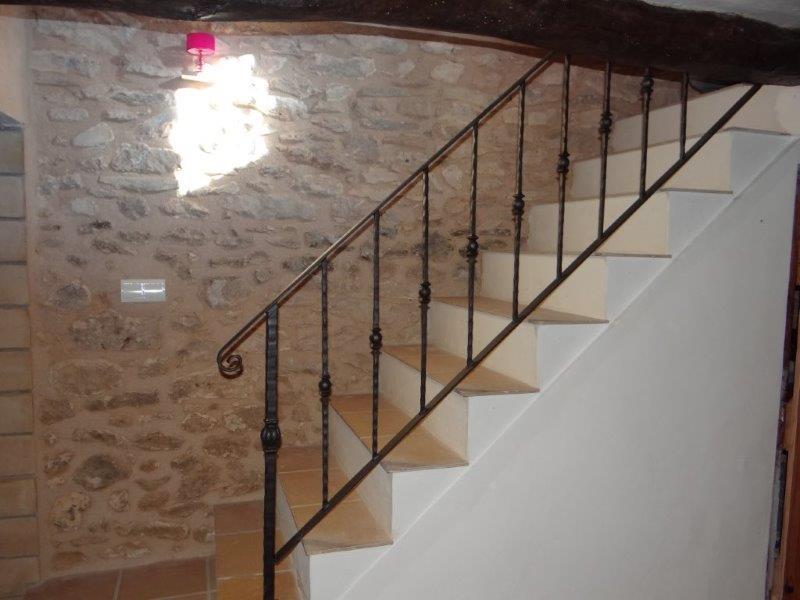 pasamanos de la escalera